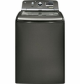 GTWS8455DMC GE 4.8 DOE Cu. Ft. Capacity Washer with Stainless Steel Basket and Steam - Metallic