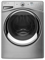 WFW96HEAU Whirlpool 4.3 cu. ft. Duet Front Load Washer with Precision Dispense Ultra - Diamond Steel