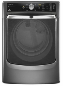MGD8000AG Maytag Maxima XL HE Gas Steam Dryer with a Quiet SoundGuard Drum - Granite