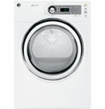 GFDS140EDWW GE 7.0 Cu. Ft. Super Capacity Electric Dryer with Steam - White