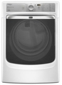 MED8000AW Maytag Maxima XL HE Electric Steam Dryer with a Quiet SoundGuard Drum - White