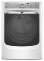 MGD8000AW Maytag Maxima XL HE Gas Steam Dryer with a Quiet SoundGuard Drum - White