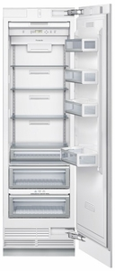 "T24IR800SP Thermador Freedom 24"" Built-in Fresh Food Refrigerator Column - Custom Panel"