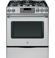 "CGS975SEDSS GE Cafe 30"" Free-Standing Gas Range with Storage Drawer - Stainless Steel"