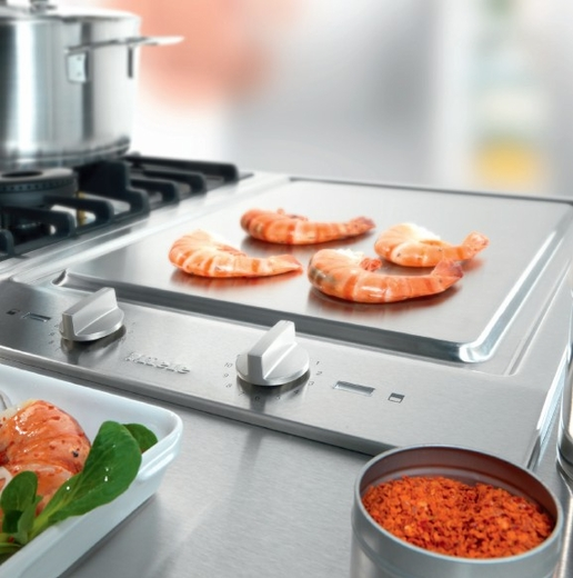 CS1327Y-240V Miele Tepan Yaki Grill - 240 Volts - Stainless Steel