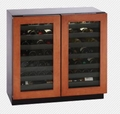 3036WCWCOL-00 U-Line 3000 Series Dual Zone Cooling System Undercounter Wine Captain - Overlay Frame