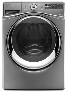 WFW96HEAC Whirlpool  4.3 cu. ft. Duet Front Load Washer with Precision Dispense Ultra - Chrome Shadow