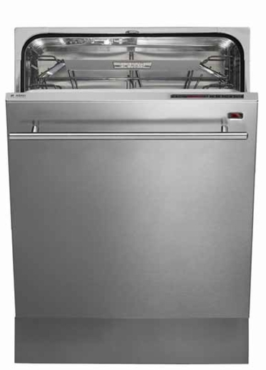 D5634XLHS Asko Hidden Control Dishwasher with LED/LCD Display - ADA Compliant - Stainless Steel