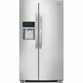 FGHC2355PF Frigidaire Gallery 23 Cu. Ft. Counter-Depth Side-by-Side Refrigerator - Stainless Steel