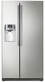 RS263TDPN Samsung 26 Cu. Ft. Side by Side Refrigerator Water and Ice Dispenser - Stainless Platinum