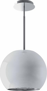 IM42I50W Best Sorpresa Collection Sphera Ceiling Mounted Island Hood - White