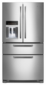 MFX2570AEM Maytag Ice2O French Door Refrigerator with Easy Access - Monochromatic Stainless Steel