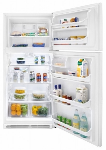 FFHT2117LW Frigidaire 20.5 Cu. Ft. Top Freezer Refrigerator - White