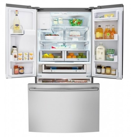 EI27BS26JS Electrolux Standard-Depth French Door Refrigerator with IQ-Touch� Controls - Stainless Steel