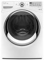 WFW88HEAW Whirlpool 4.3 cu. ft. Duet Steam Front Load Washer with Precision Dispense - White