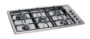 "TG365(IX)GHNA Scholtes 36"" Gas Cooktop - Stainless Steel"