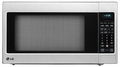 LCRT2010ST LG 2.0 cu. ft. Countertop Microwave Oven with TrueCookPlus and EZ Clean - Stainless Steel