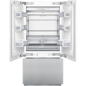 "T36IT800NP Thermador Freedom 36"" Built-In French Door Bottom-Freezer Refrigerator - Custom Panel"