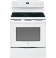 "JB690DFWW GE 30"" Free-Standing Electric Convection Range - White"