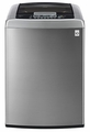 WT1201CV LG 4.5 cu. ft. Ultra Large Capacity Top Load Washer with Front Control Design and WaveForce Technology - Graphite