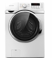 WF393BTPAWR Samsung 3.9 cu. ft. Large-size Capacity Front-Load Washer - White