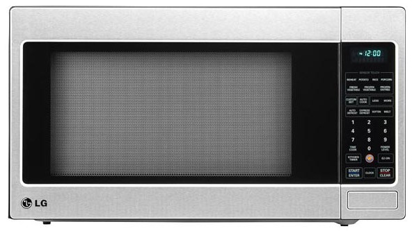 LCRT2010ST LG 2.0 cu. ft. Countertop Microwave Oven with TrueCookPlus ...