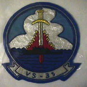 VS-35 Squadron Patch