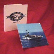 USS Hornet Photo Tile