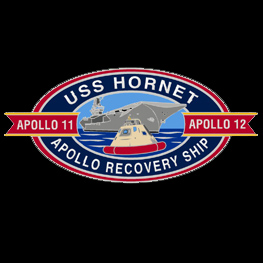 USS Hornet Apollo Pin