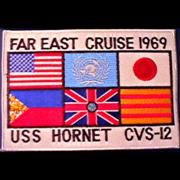 CVS-12 Far East Cruise Patch