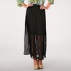 Covet Recycled Poly Chiffon Skirt