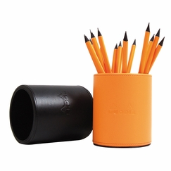 Rhodia Pencil Cup Holder (pencils not included) in Orange