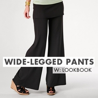 Wide Legged Pants Lookbook