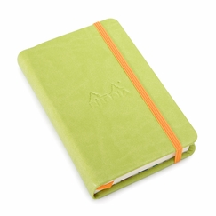 Rhodia Rhodiarama Pocket Web Notebook (3.5 x 5.5) in Anis Green