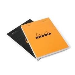 Rhodia Top Staple Bound No. 13 Notepad (4 x 6) in Orange