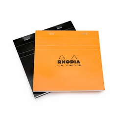 Rhodia Le Carre Staple Bound Square Notepad (5.75 x 5.75) in Black