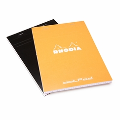 Rhodia Large No. 16 dotPad (6 x 8.25) in Black