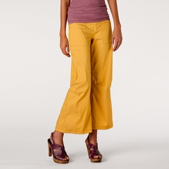 Be Present Sun Agility Pant in Sunflower w/ Pink Sun