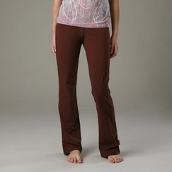 Organic Beckons Yoga Strength Pant in Brown