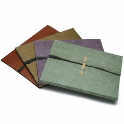 Social Stationery Writing Set in Terra Cotta