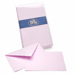 G. Lalo Verge de France Correspondence Sets (3.75 x 6) in Lavender