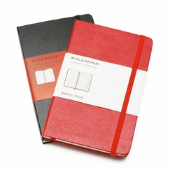 Moleskine Pocket Address Book (3.5 x 5.5) in Red