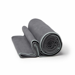Manduka Long eQua Mat Towel in Thunder