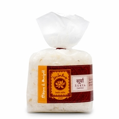 Lotus Love Beauty Bath Salts in Surya (Hibiscus & Marigold)