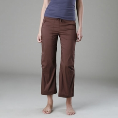 Be Present Agility Pant (back slits) in Chocolate