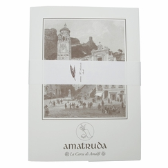 Amalfi Watermarked Stationery Set (20 ct.) (8.5 x 12) in Amalfi Crest Watermark