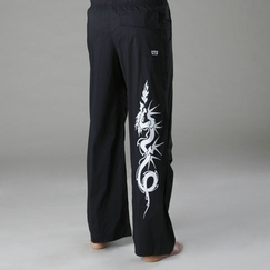 Be Present Dragon Practice Pant in Black w/ Dragon