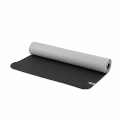 Prana Nomad Travel Yoga Mat in Black/Vapor