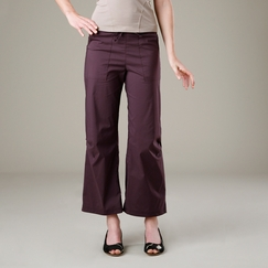 Be Present Lotus Agility Pant in Currant w/ Garnet Lotus