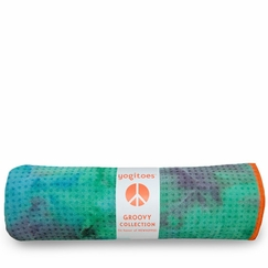 Yogitoes Tie Dye Skidless Towel in Seaburst
